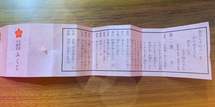 2019年おみくじ